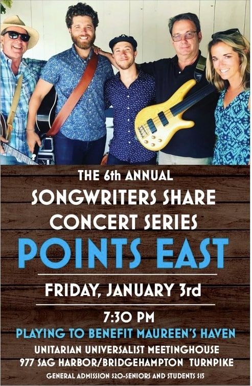 Songwriter's Share Concert Series - Points East